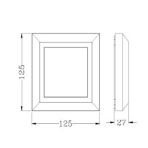 Drawing-ไฟบันได-HANA-A-3W-LED
