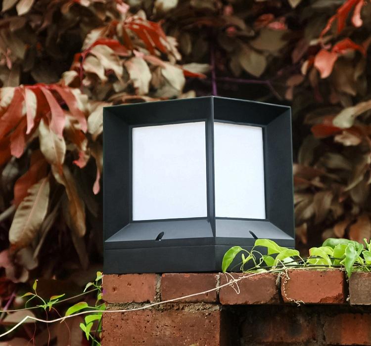 Bollard light ไฟหัวเสา สี่เหลี่ยม
